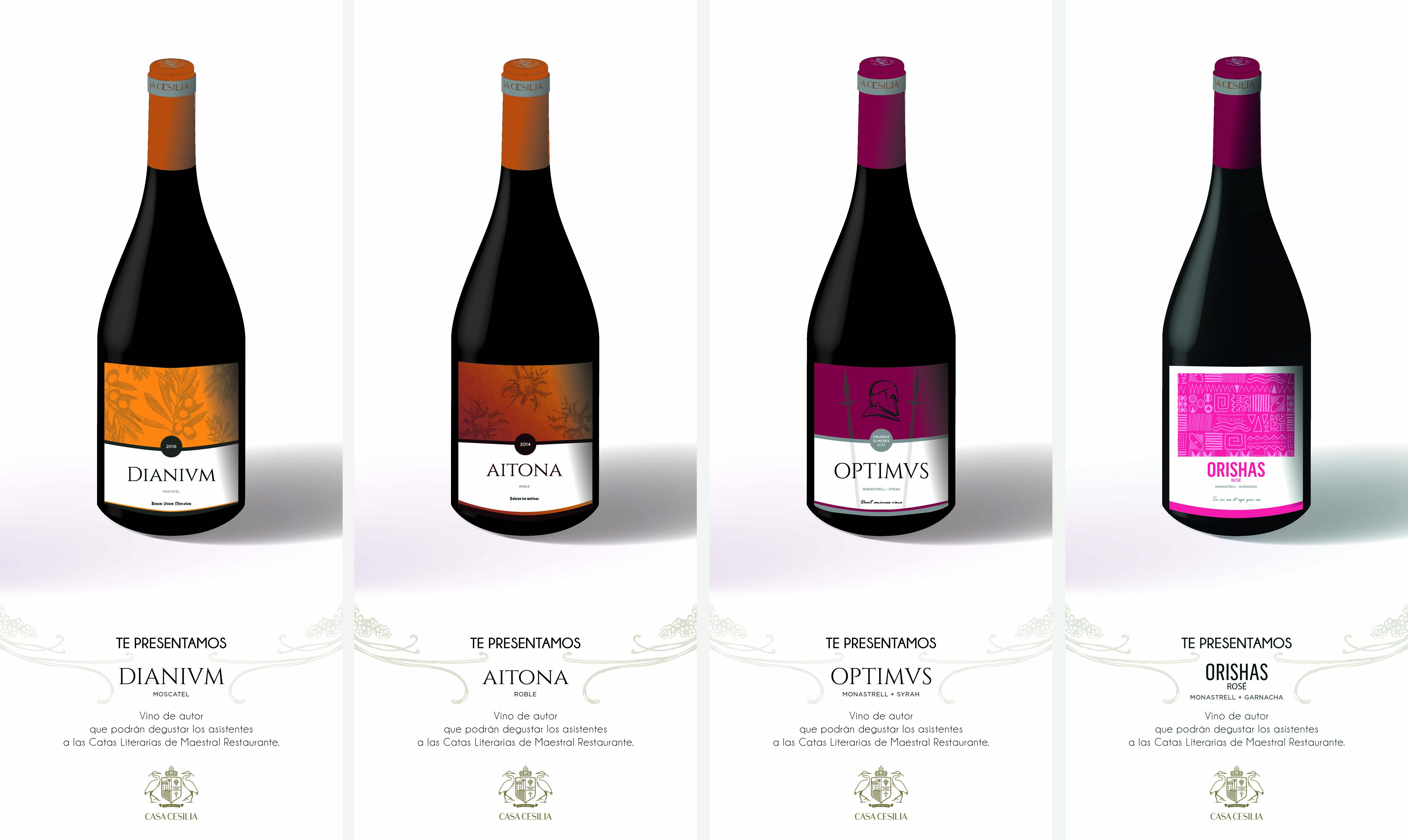 Vinos exclusivos para catas especiales